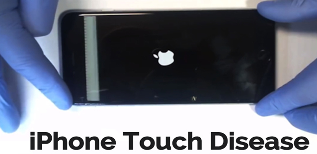 iPhone 6 Plus touch dieasea