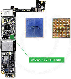 iPhone 7 Audio IC Chip Repair