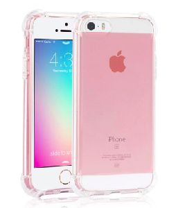 iPhone 5/5S/SE Airbag iPhone Crystal Clear Case
