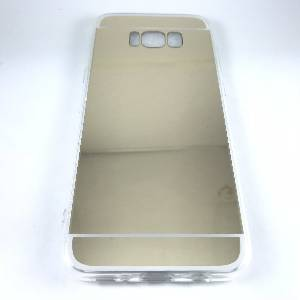 Cases Galaxy S8 Plus Mirror Surface TPU Case for Samsung Gold