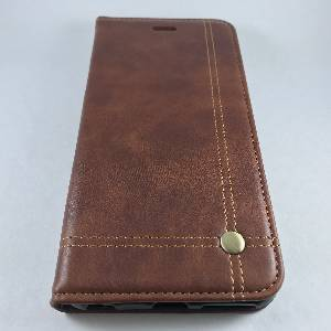 Cases iPhone 6Plus Vintage Pull-up Leather Case Coffee
