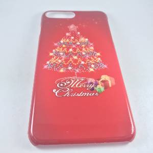 Cases iPhone 7Plus Merry Christmas Series Hard PC Case Paten C